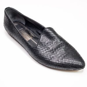 Dolce Vita Sample Loafers with Texture Black